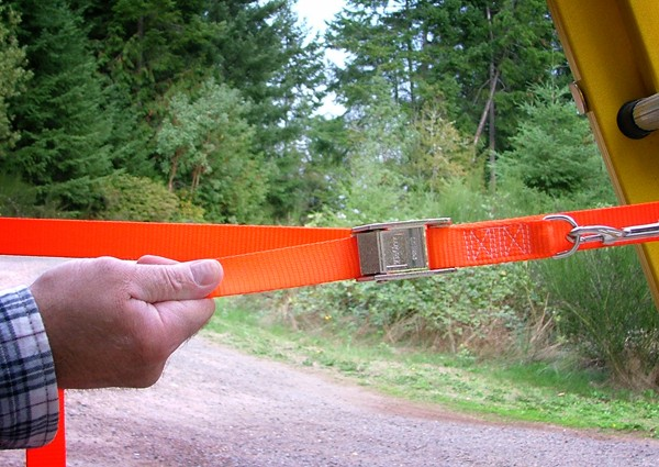 Lower Ladder Safety Strap