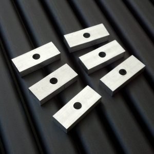6 Thick Aluminum Spacer Plates