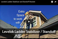 Levelok Ladder Stabilizer and Standoff Bracket