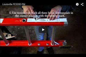 Ladder Levelers Stabilizer Permanent Mount Style Levelok
