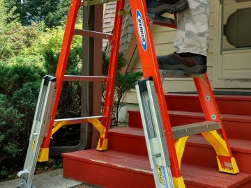 KeyLok Ladder Leveling System Passes Tough New ANSI Ladder Accessory Requirements for Step Ladders