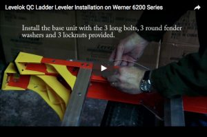 QC Ladder Leveler Installation on Werner 6200 Series