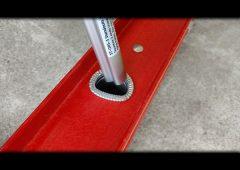 Attaching Ladder Stabilizer Standoff Brackets