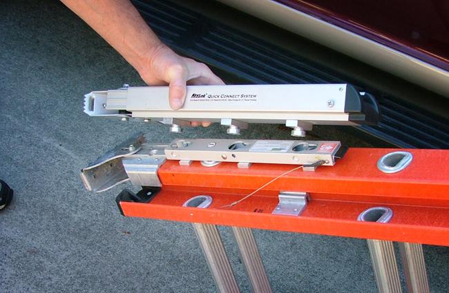 Ladder Leveler Stabilizer Keylok Quick Connect Style Levelok