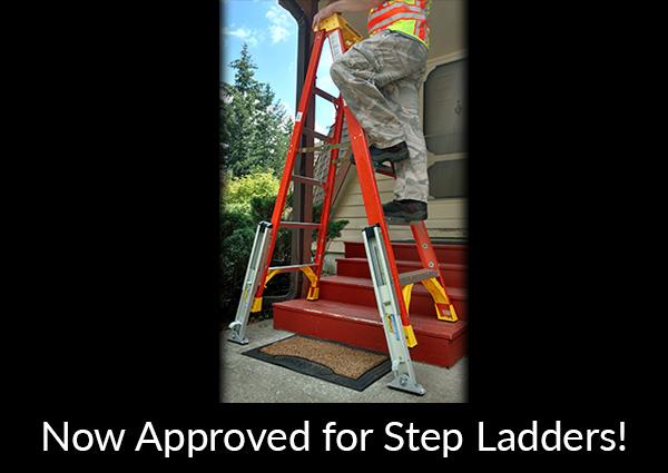 Ladder Leveler Stabilizer (KeyLok® Quick Connect Style) | Levelok