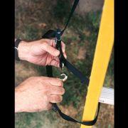 Ladder Safety Strap for lower ladder