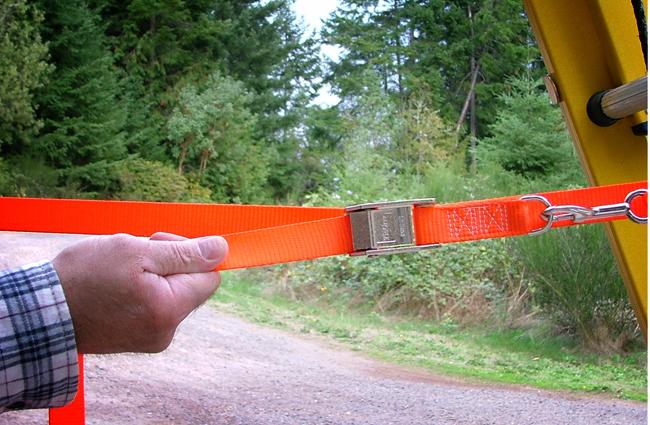 Lower Ladder Safety Strap