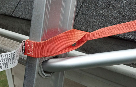 Ladder To Roof Stabilizer Straps Levelok