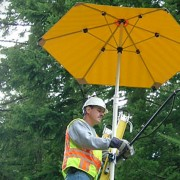 Non-Conductive Umbrella