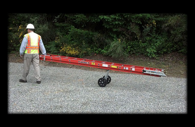 Ladder Dolly Ladder Transport Levelok