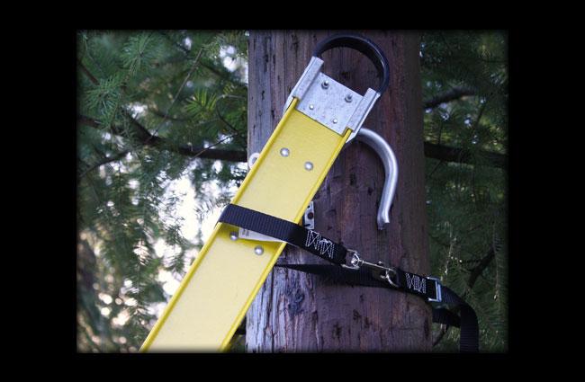 Ladder Safety Strap Black