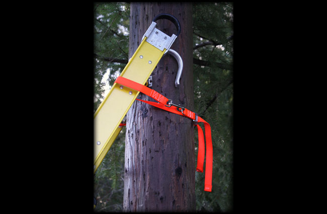 Ladder Safety Strap Orange