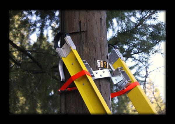 Orange Ladder Safety Strap