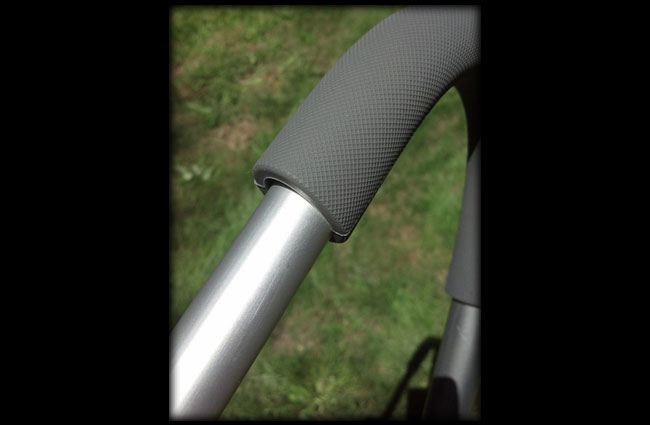 Standout Bracket With Rubber Elbow