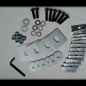 Complete Mounting Hardware Kit for QC Base Units