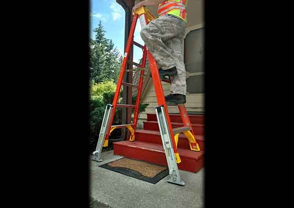 Approved for Step Ladders! Ladder Leveler Stabilizer (KeyLok Quick Connect Style)